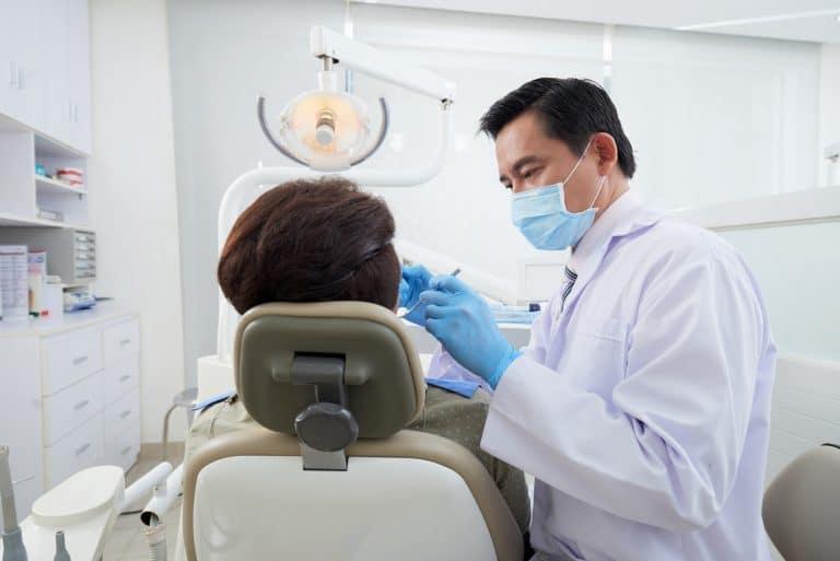 Teeth cleaning